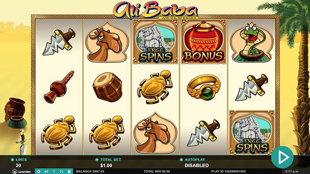 Ali Baba Slot Game