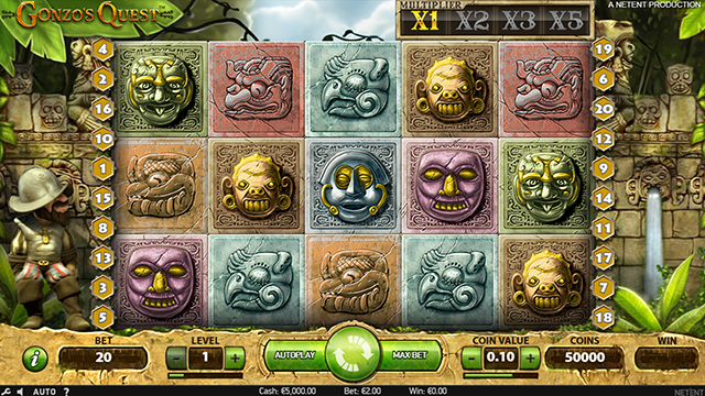 Gonzo's Quest Slot NetEnt