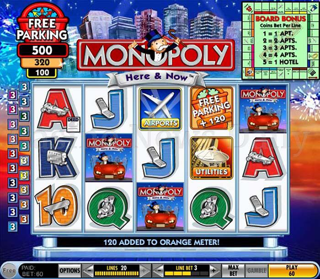 Monopoly Slot Machine Game